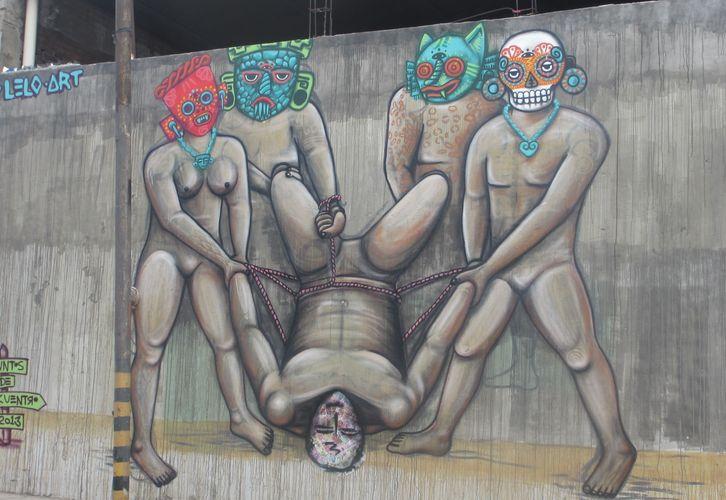 Œuvre Par Lelotzin à Oaxaca de Juárez