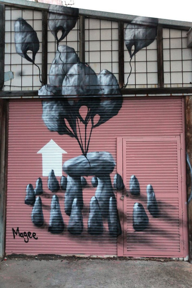Artwork By Fintan Magee in Brisbane