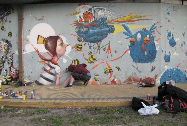 Artwork By Nikodem in Concepción