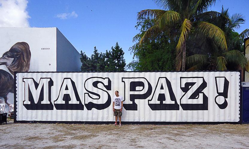 Œuvre Par Maspaz à Miami