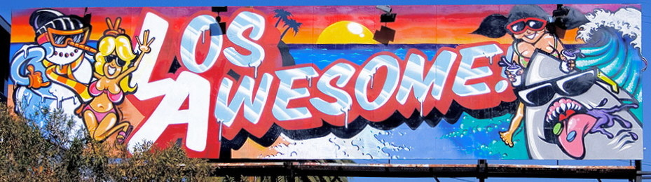 Artwork By Rime, Revok in Los Angeles (Characters, Spray, Long wall, Letter art)