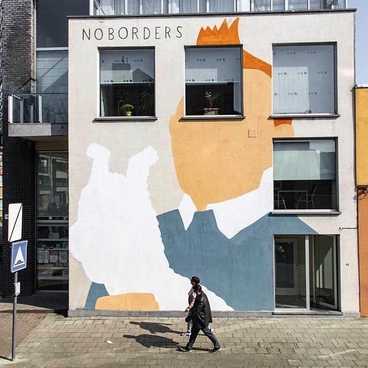 Artwork By Escif in Ostend