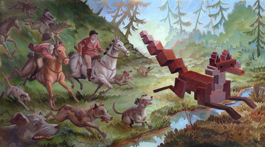 Œuvre Par Laura Bifano à Vancouver (Nature, Pixel Art)