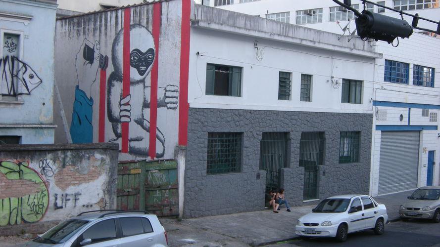 Œuvre Par SUBTU à São Paulo (Façades, Société)