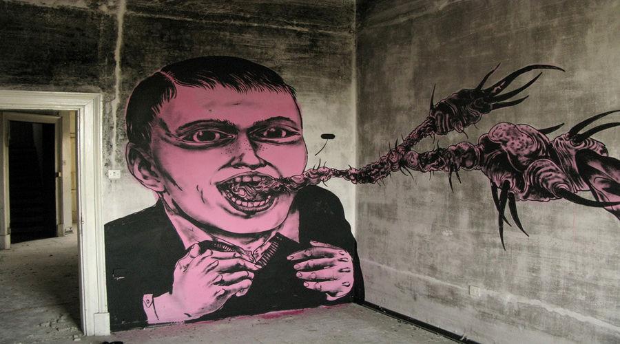 Œuvre Par James Kalinda à Milan (Portrait)