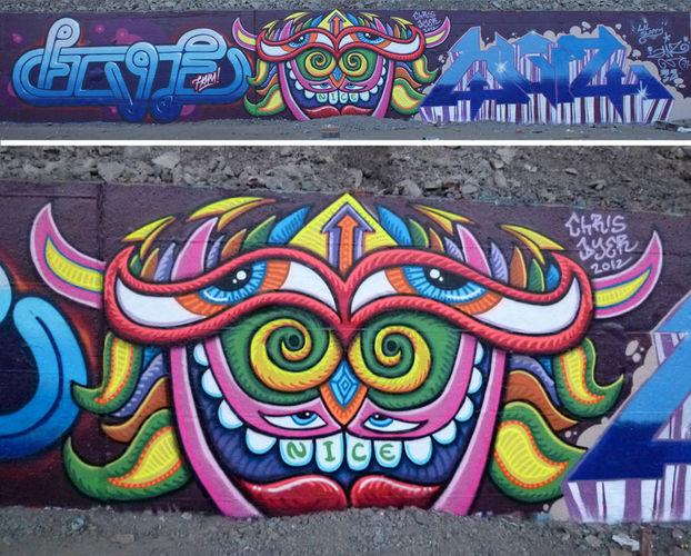 Œuvre Par Chris Dyer à Montréal