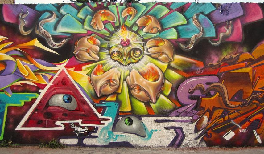 Œuvre Par Narcélio Grud à Mexico
