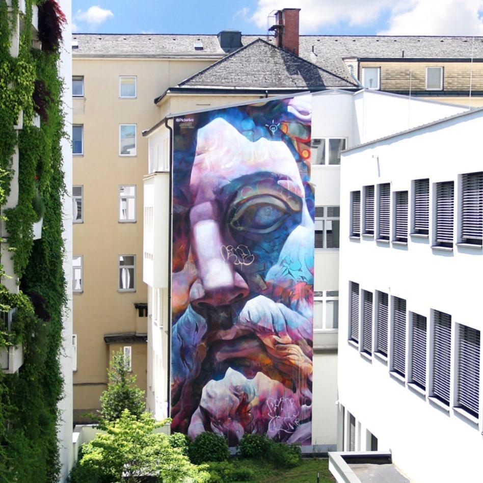 Œuvre Par PichiAvo à Linz