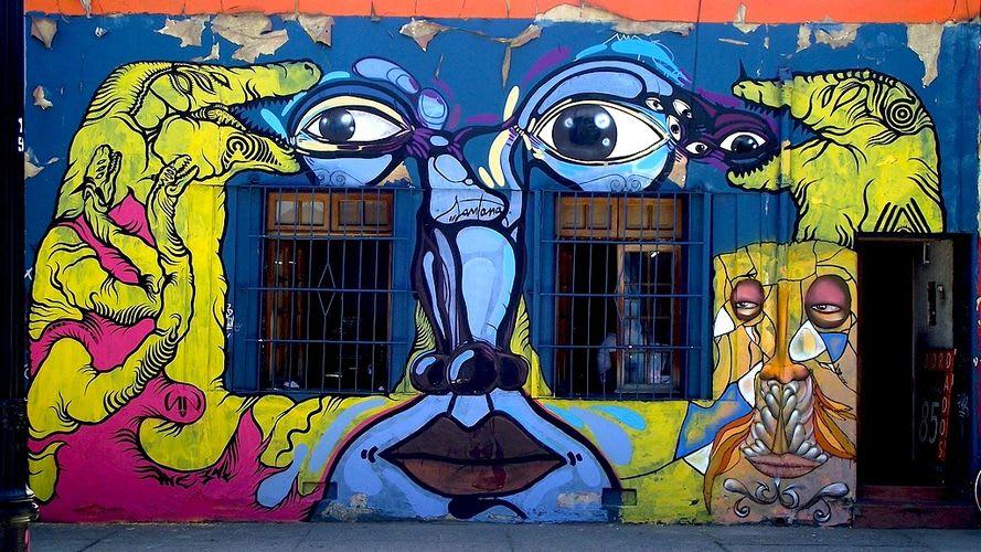 Artwork By ene ene, tua santana in Santiago