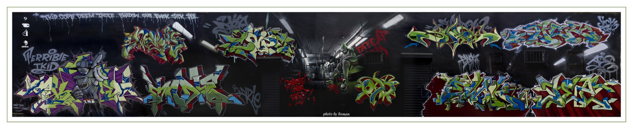 Artwork By Cope2, Shadow, T-kid in New York City