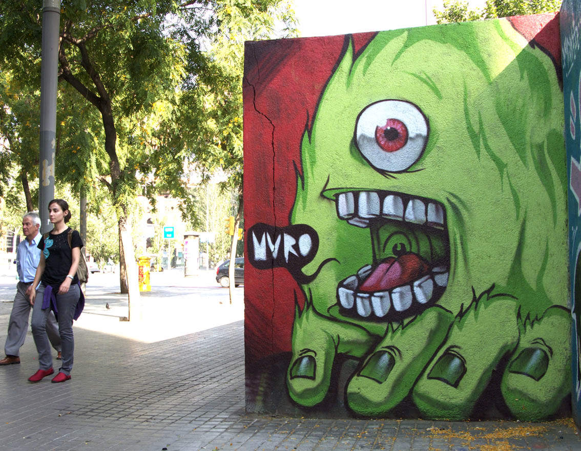 Artwork By Muro in Barcelona