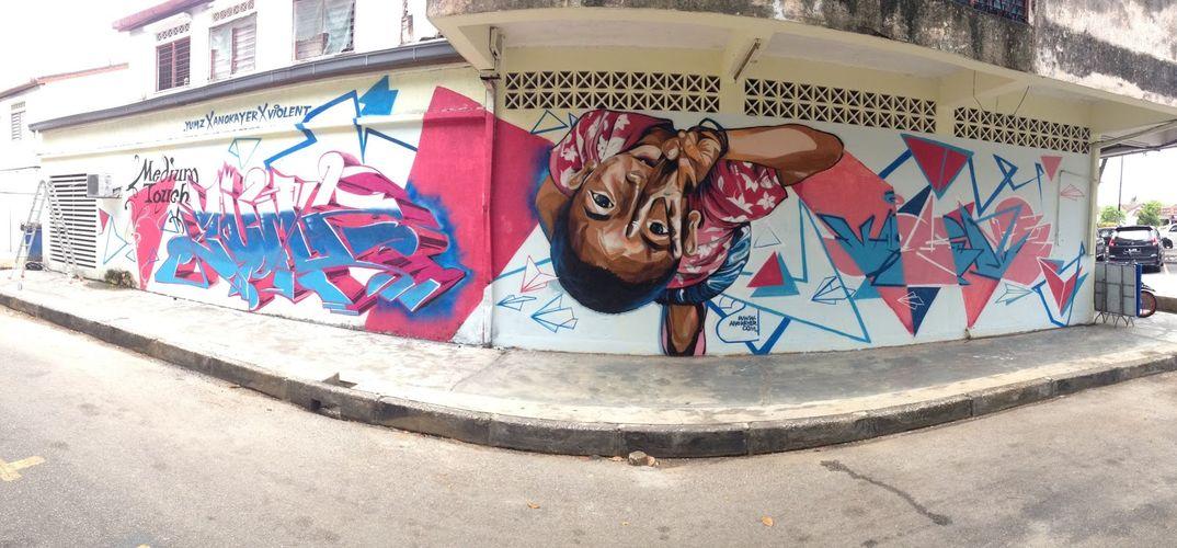 Œuvre Par The Violent à Kuala Lumpur