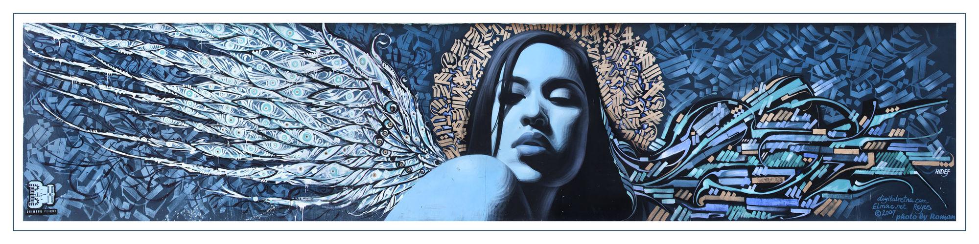 Artwork By El Mac, Retna