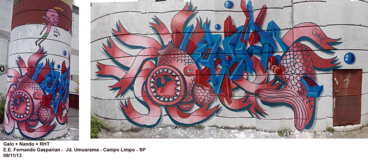 Œuvre Par Galvani Galo  à São Paulo