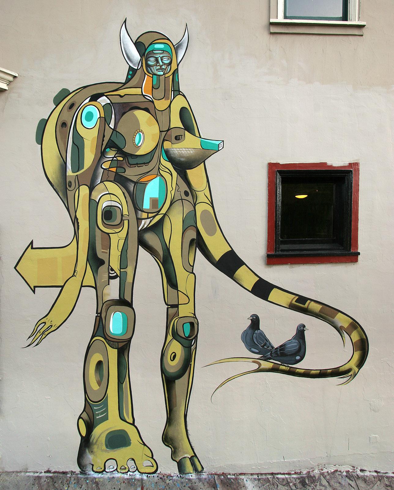 Œuvre Par Doze Green à San Francisco