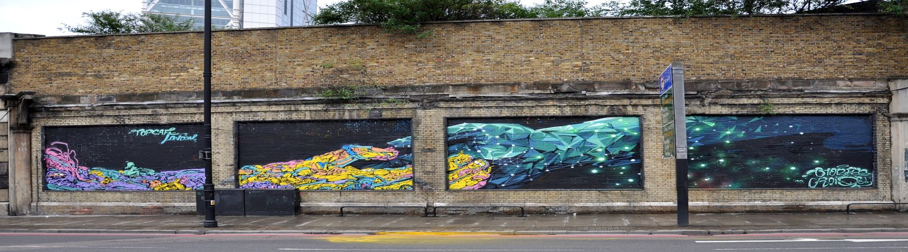 Artwork By Roid, horfe in London