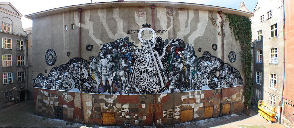 Artwork By M-City in Gdańsk