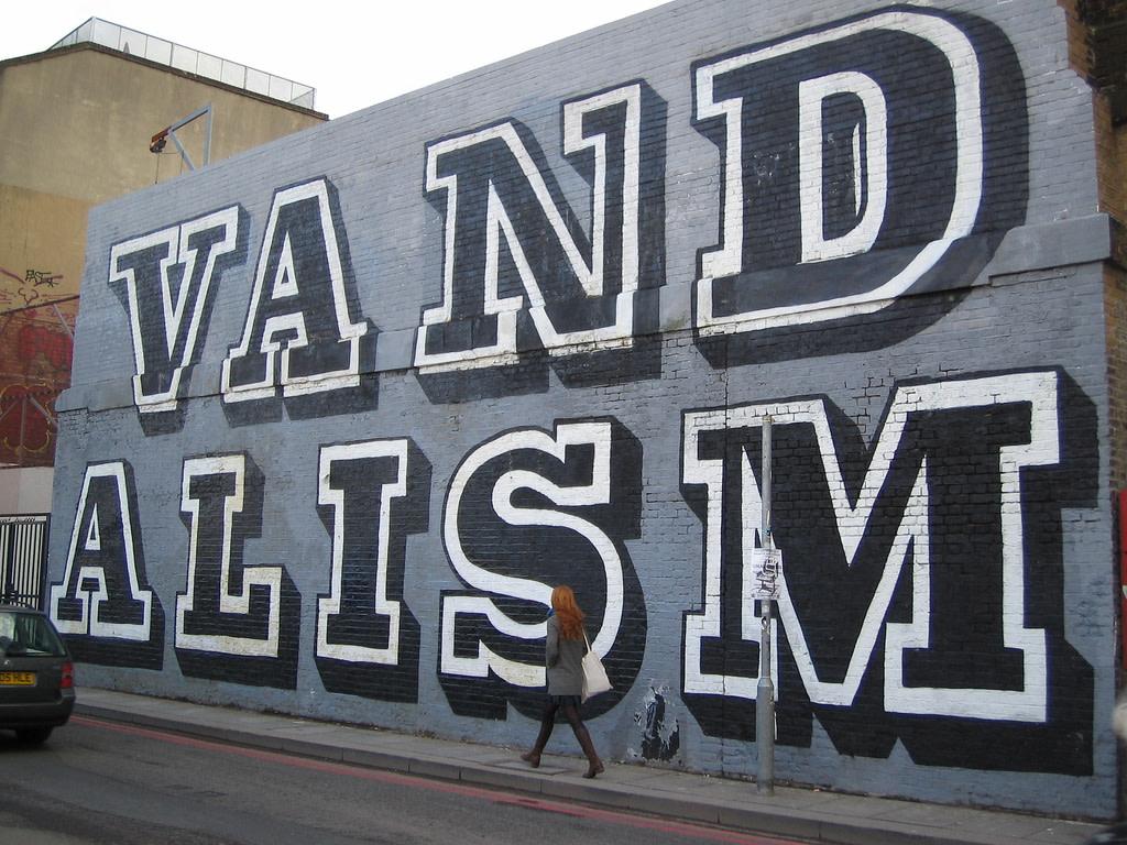 Œuvre Par Eine à Londres (Letter art, Façades)