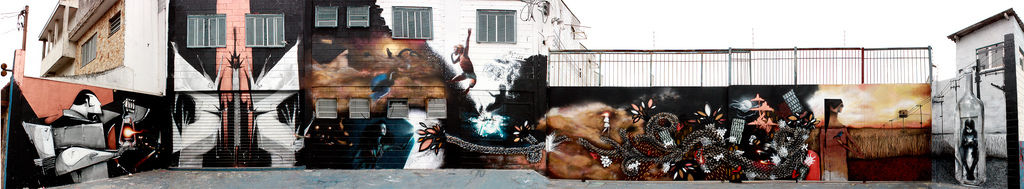 Artwork By Frg & Dme, Dante Horoiwa in São Bernardo