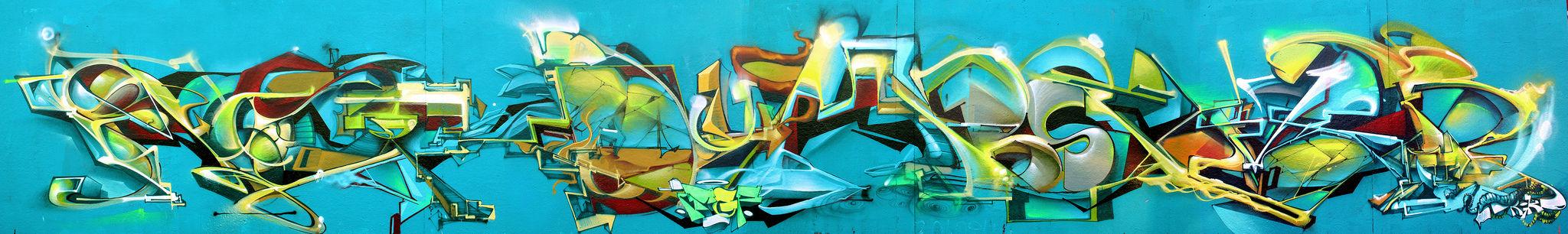 Artwork By Redone in Paris