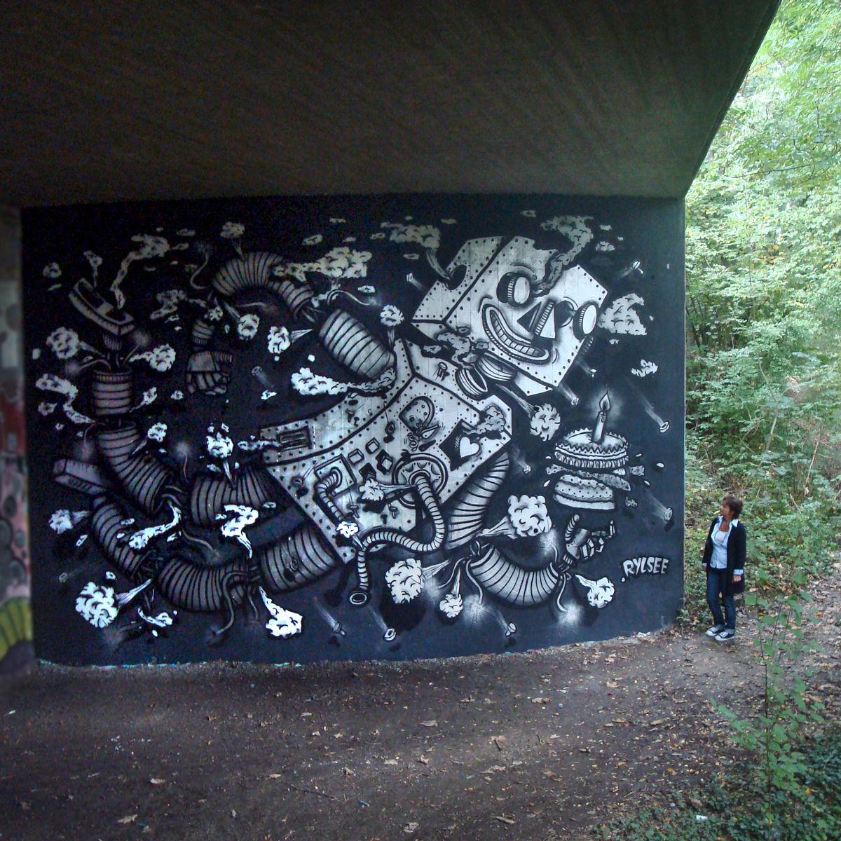 Œuvre Par RYLSEE à Genève, canton de Genève