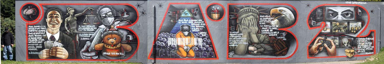 Artwork By Bab2 in Palaiseau
