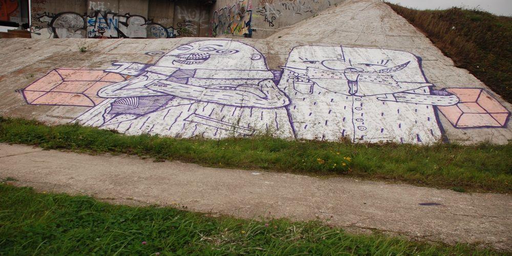 Œuvre Par Signor Sick à Tallinn