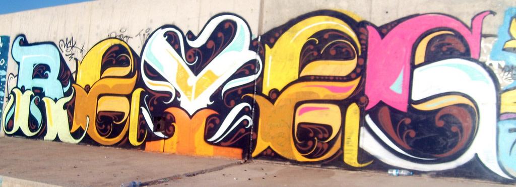 Artwork By Reyes in Barcelona