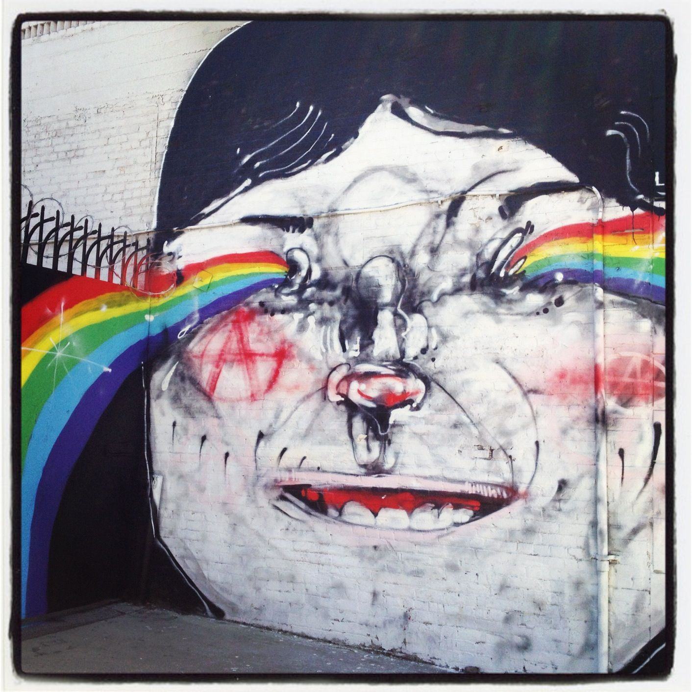 Artwork By Anthony Lister in Los Angeles