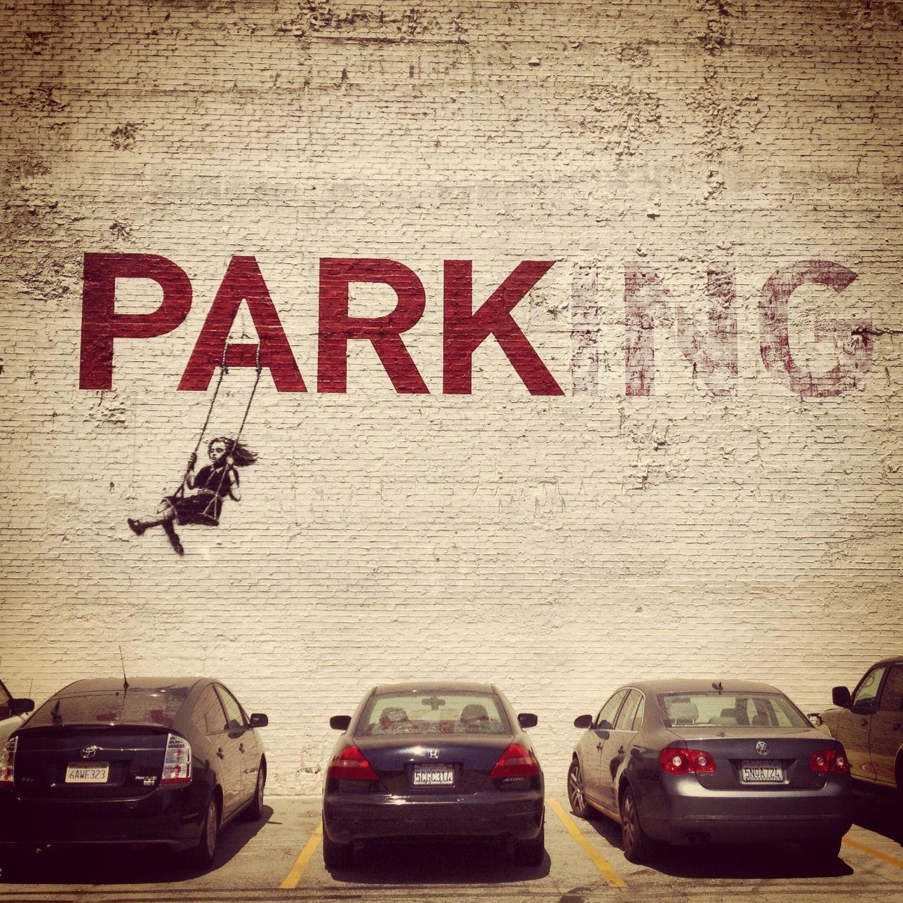 Œuvre Par Banksy à Los Angeles