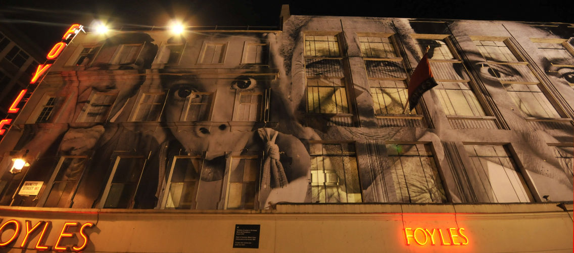 Artwork By JR in London