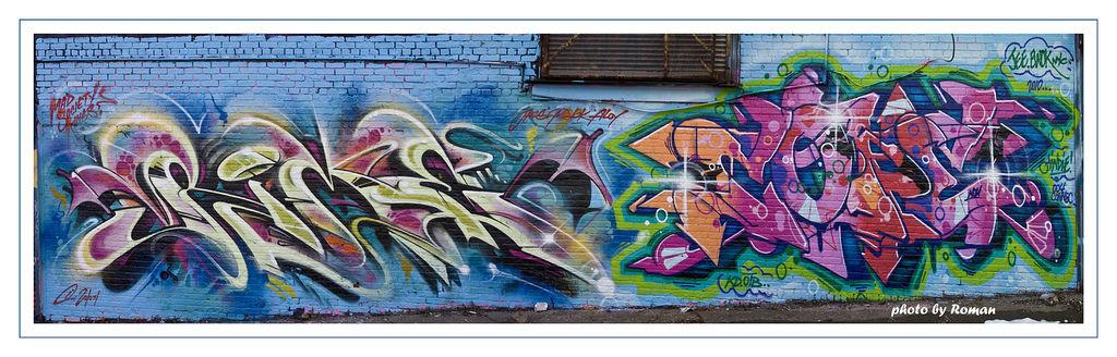 Œuvre Par Cope2, Rime à New York