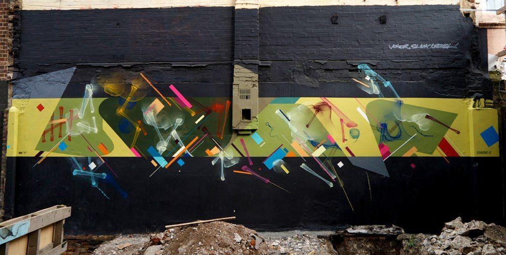 Œuvre Par Remi Rough, Shok-1 à Londres (Personnages, Abstrait)