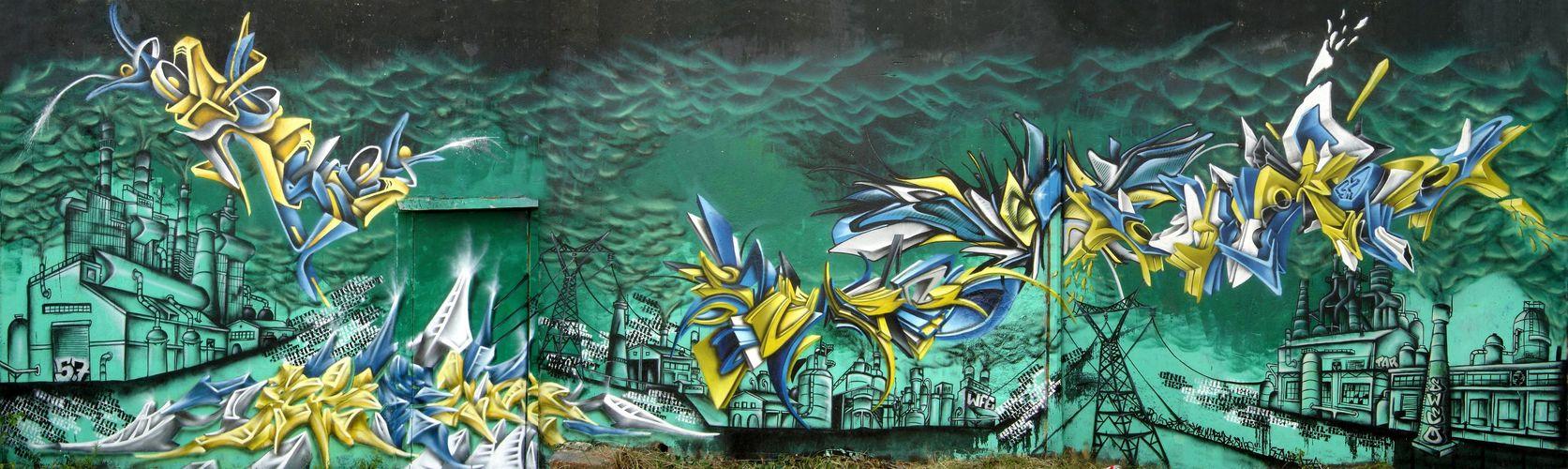 Œuvre Par DESO à Montpellier