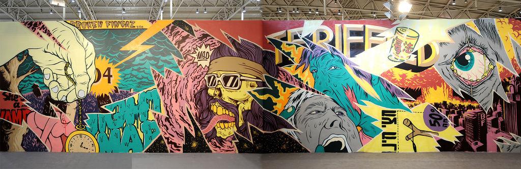 Artwork By Tant, Unga, Insa, (kip), DesOne in Beijing