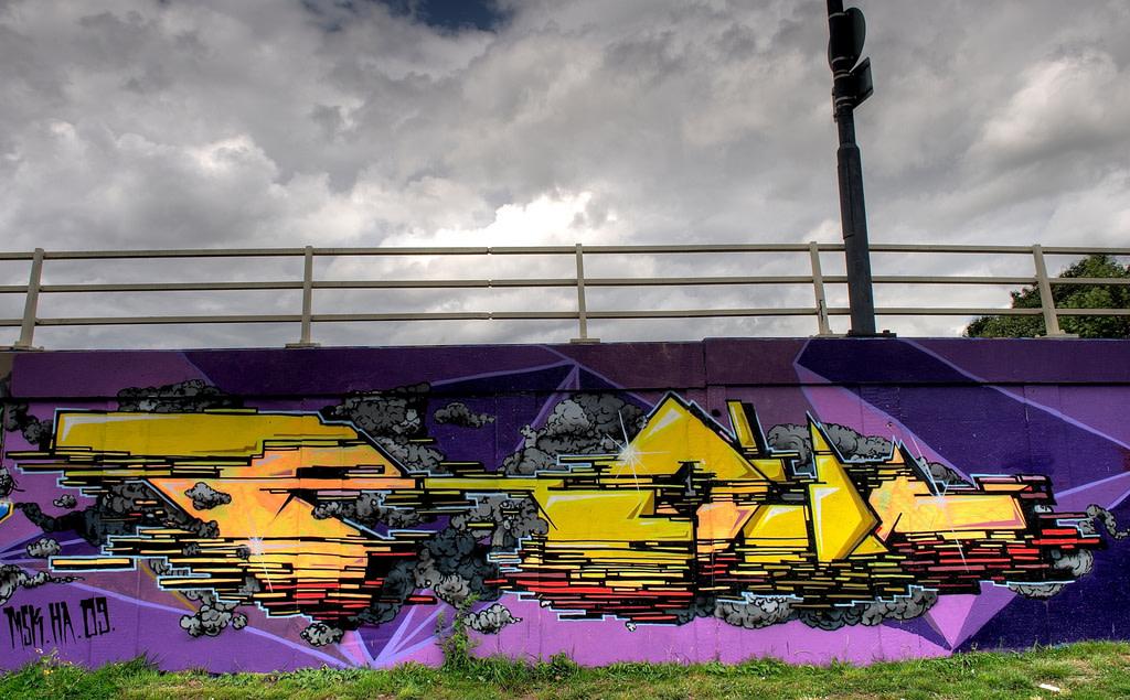 Artwork By Roid in Bristol