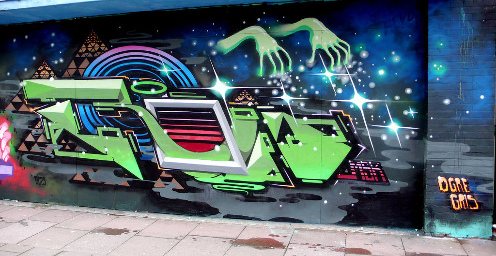 Artwork By Roid in Brighton