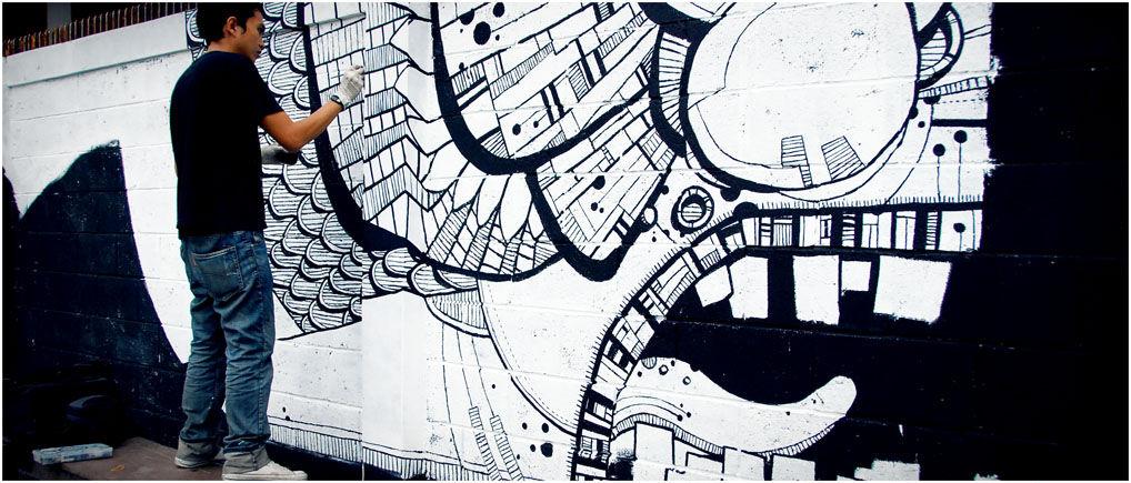 Œuvre Par Astronautboys à Bandung
