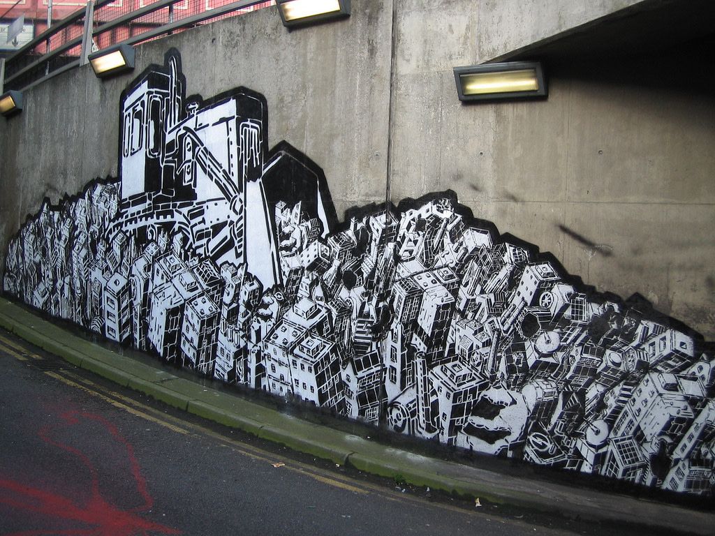 Artwork By M-City in London