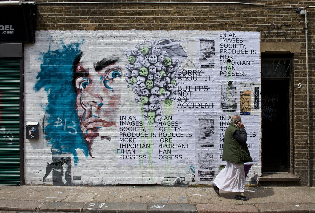 Artwork By Ludo, Rero, Olivier Winconek in London