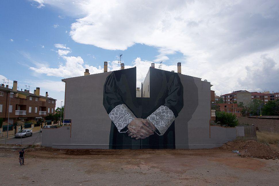 Œuvre Par Hyuro à Villarreal