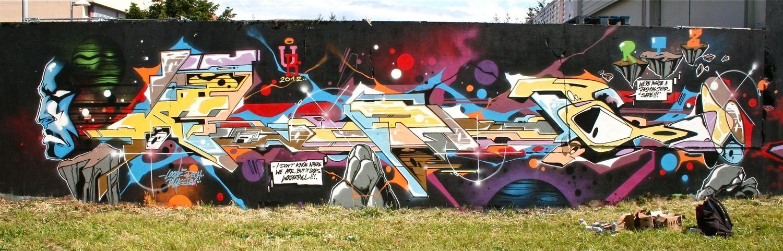 Œuvre Par Pro176 à Paris (Futuriste)