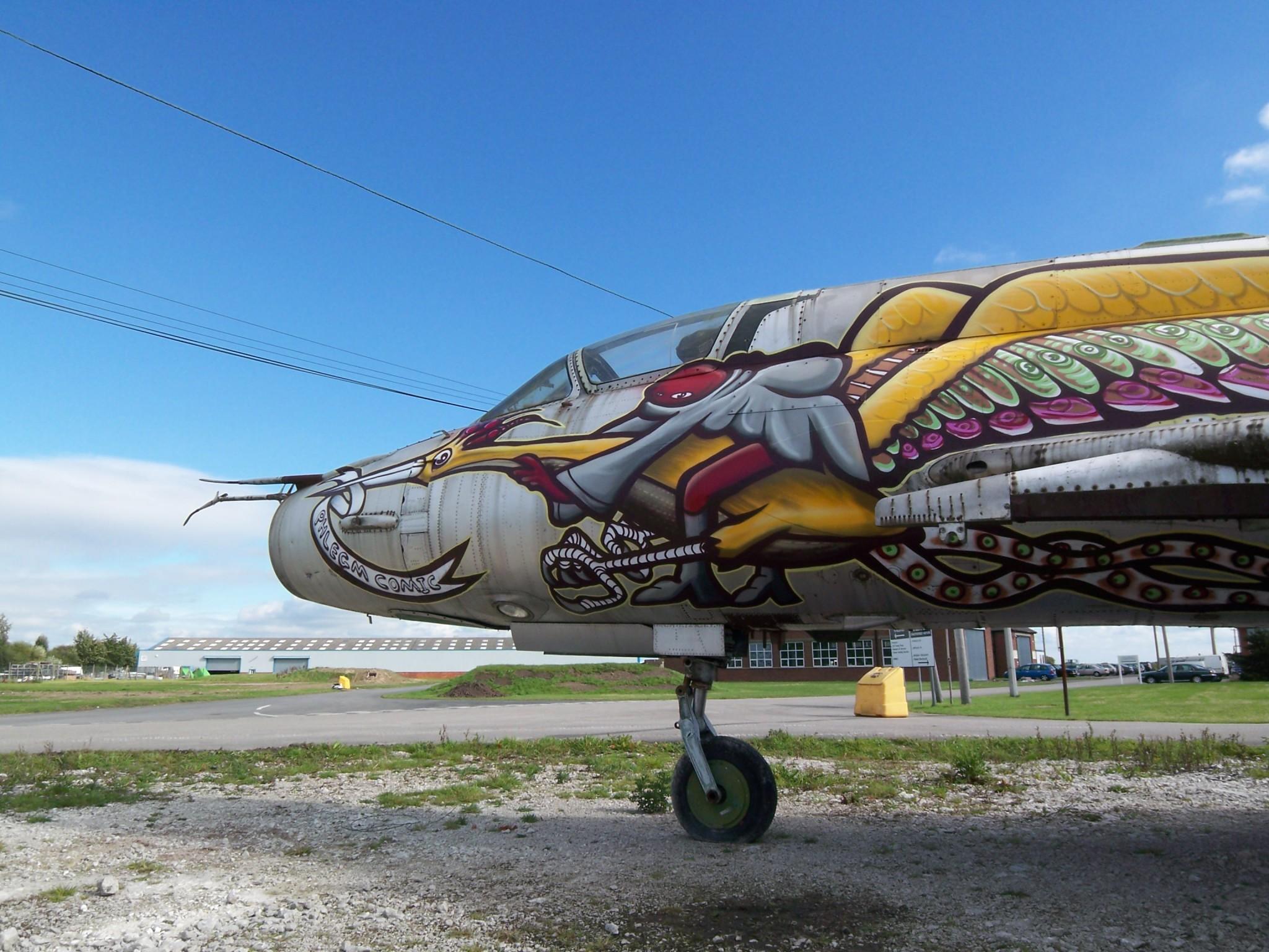 Artwork By Phlegm in Cardiff