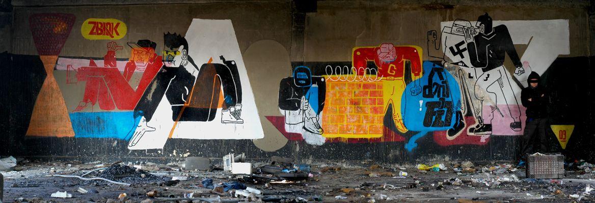 Artwork By Zbiok in Warsaw