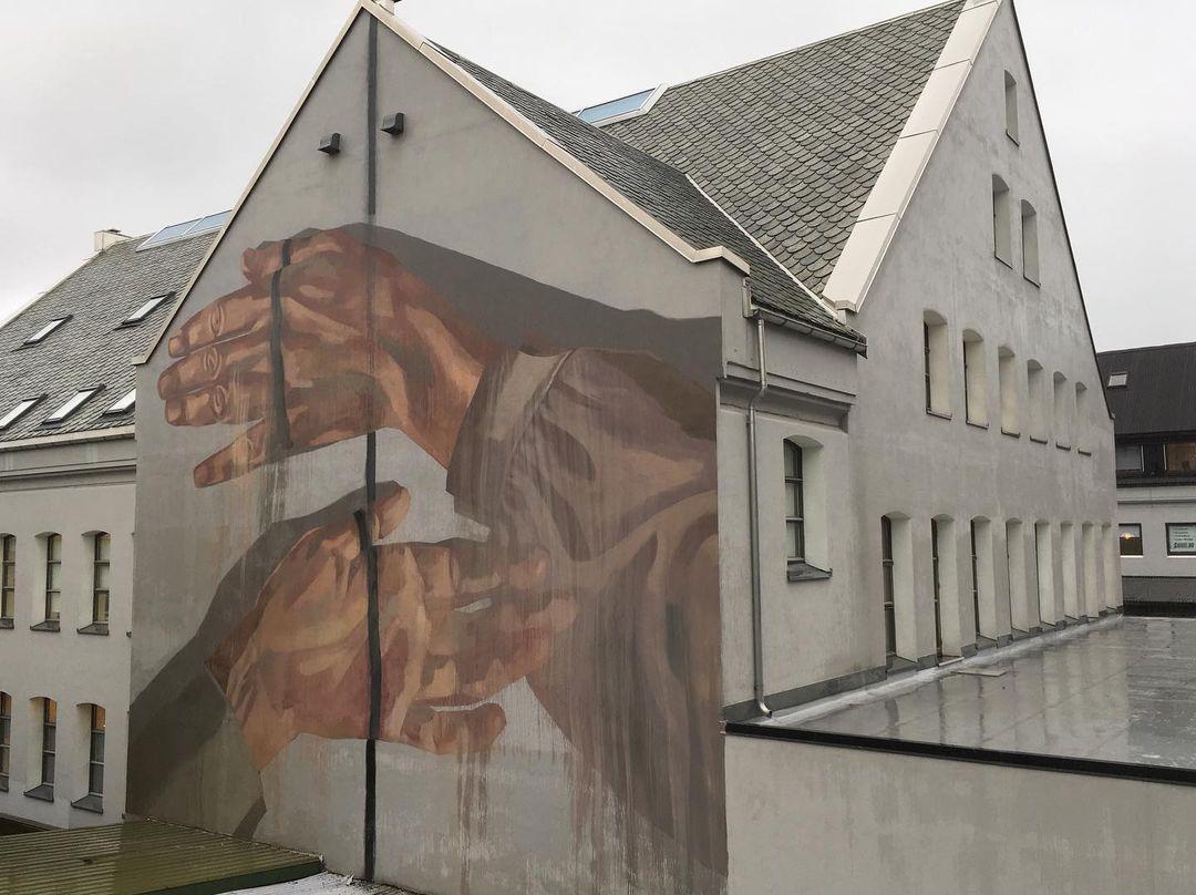 Œuvre Par Hyuro à Stavanger