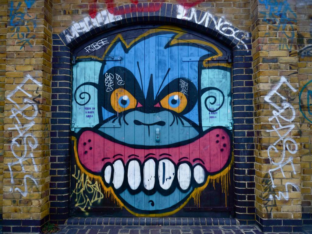 Œuvre Par Sweet Toof à Londres