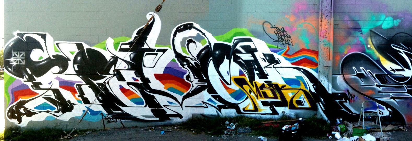 Artwork By Revok in Los Angeles