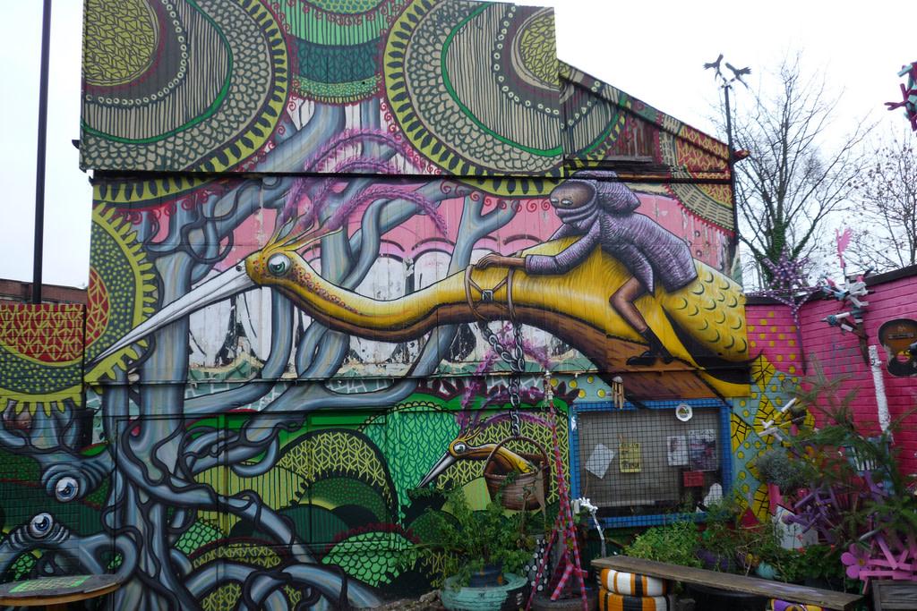 Artwork By Phlegm in Bristol