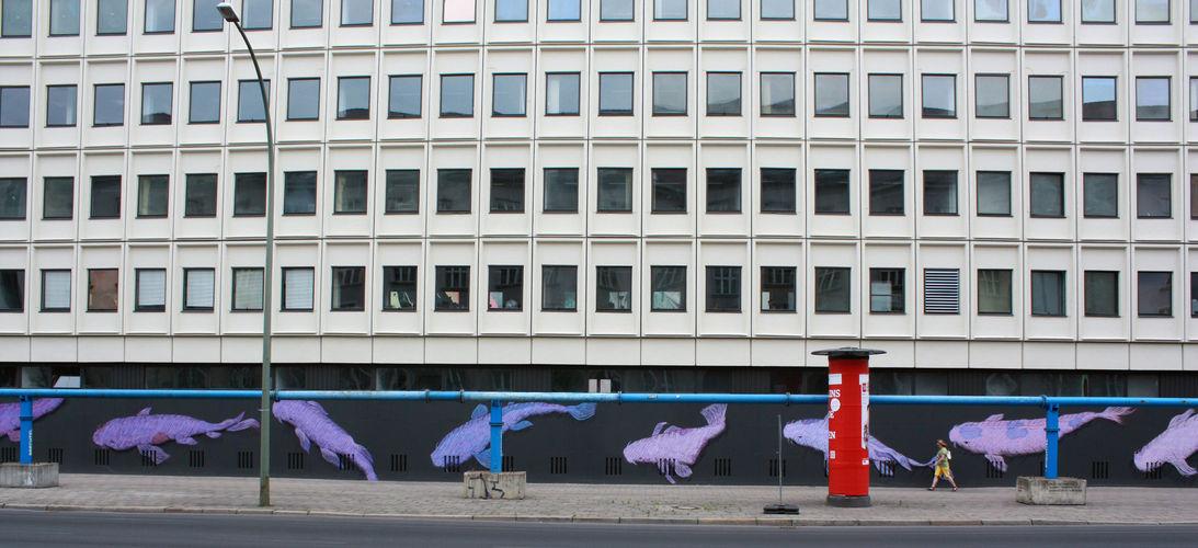 Œuvre Par Karl Addison à Berlin
