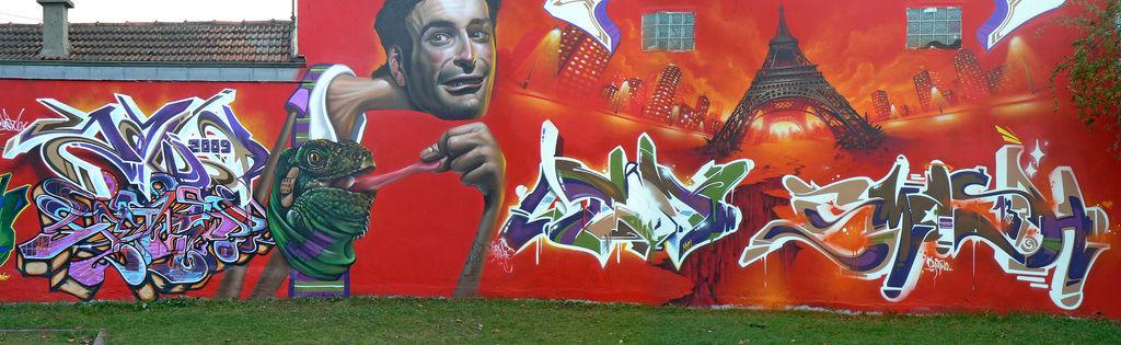 Artwork By Shadow, Belin, Sawer in Bondy